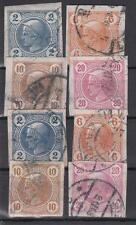 Österreich Nr. 97-100, 101-104, gest.
