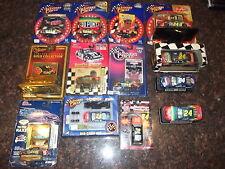 LOT OF 13 NEW/USED GEFF GORDON DIECAST NASCAR CARS