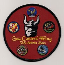 USN SEA CONTROL WING ATLANTIC patch S-3 VIKING VS WING