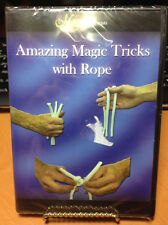 Amazing Magic Tricks with Rope New DVD Sealed