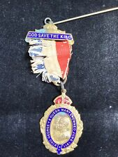 """1911 King George V & Queen Mary Crowned June 1911  """"God save the King"""" Medal."""