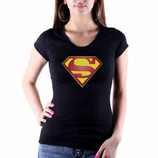 Fruit of the Loom Superman Cotton T-Shirts for Women