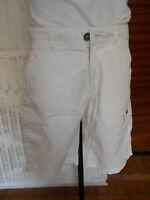 Short bermuda coton beige NAPAPIJRI L W31 40FR Multi poches brodé logo 19ET3