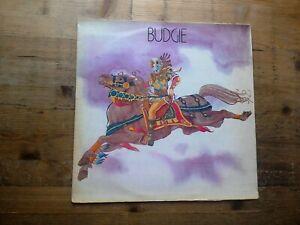 Budgie Self Titled Very Good Vinyl LP Record Album MCF 2506 1975 Reissue
