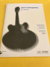 Jazz Conception for Guitar, Jim Snidero/Joe Cohn, Book/CD Set