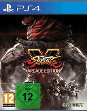 Street Fighter V - Arcade Edition PS4 (Sony PlayStation 4, 2018) neuware