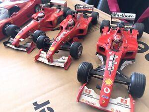 FERRARI 1:18 F1 Michael Schumacher - MARLBORO - 3 Pezzi + regalo F50