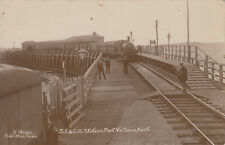 Unused postcard ~ SE & CR Station Port Victoria Kent