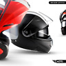 ⛑ MOTO F19 MODULAR HELMET ⸺ FLIP-UP MOTORCYCLE FULL-FACE CONVERTIBLE ⸺ XS – XL