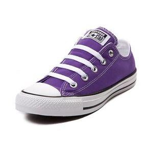 Neuf Converse Chuck Tailleur Tout Étoile Lo Violet Électrique Femmes Basket Shoe