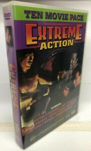 10 Extreme Action Movie DVD Box Set - AusPost with Tracking