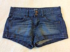 Mossimo Shorts Size 7 Short Mini Denim Blue Jean Fit 6 Sexy Summer Daisy Dukes