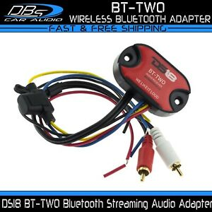 DS18 BT-TWO Universal Wireless Bluetooth Streaming Audio Adapter Interface