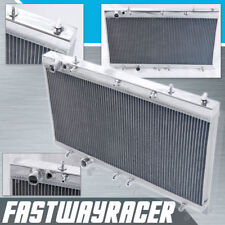 Eclipse Talon DSM 1G 4G63 4G63T Manual Aluminum Racing Radiator 2 Rows Cooling