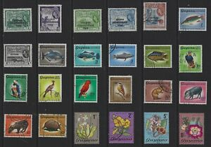 H 206 British Guiana & Guyana / A Small Collection Early & Modern Used