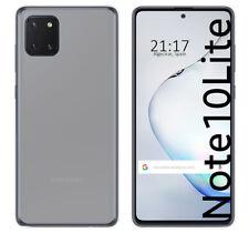 Funda Gel Tpu para Samsung Galaxy Note 10 Lite Color Transparente