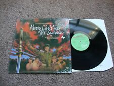 DAVID BOWIE MERRY CHRISTMAS MR LAWRENCE IN SHRINK 1983 UK RCA 1st Press Nr MINT
