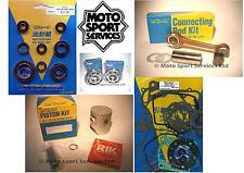 Honda CR 125 92-97 Mitaka Engine Rebuild Kit Rod Piston C Mains Gasket Seal