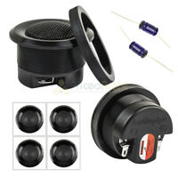 "Audiopipe Z20C Zebra 2 4/"" Piezo Tweeters In Tweeter Box 100 Watts Max"