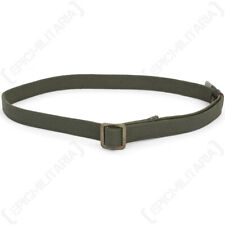 Original Russian Trouser Belt - Army Military Surplus Issued Webbing Buckle