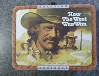1978 How the West Was Won Lunch Box lunchbox w Thermos