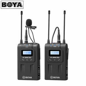 BOYA by-WM8 Pro Dual-Channels Lavalier Wireless Microphone System