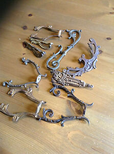 French Vintage Ormolou Furniture Fittings