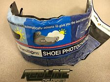 Shoei CWR-1 Photochromic face shield for RF1200 and X14  auto darkening
