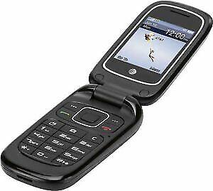 ZTE Z223 | Flip Phone | Camera | AT&T Prepaid | Mobile Go Phone | Brand New