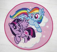 NEW My Little Pony Equeatrian Rug Girls Kids Pink Bedroom Floor Mat Accessories