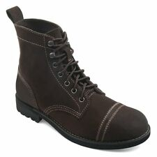 Men's * Eastland * Jayce Classic Cap Toe Lace Up Boot Brown Suede