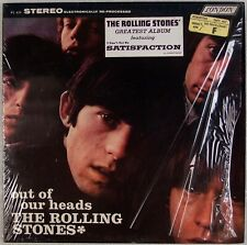 ROLLING STONES: Out of Our Heads US London SHRINK Hype Sticker LP
