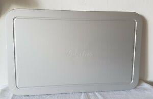 Genius Auftauplatte, Schneidbrett, Servierplatte aus Edelstahl 24cm x 39cm