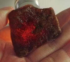 168Ct Natural Orange Garnet Hessonite Facet Rough Specimen YSE3417