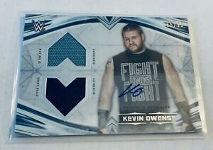 R51,305 - 2020 Topps WWE Undisputed Dual Auto Relic Kevin Owens #65/99