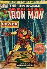 MARVEL COMICS INVINCIBLE IRON MAN #69 APR. 1974 PB(PRETTY BEAT!)