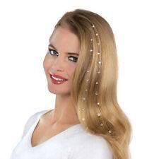 Woman Crystal Rhinestone Bling Diamond Hair Accessories Wedding Hair Decor