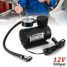 300PSI 12V Portable Mini Air Compressor Auto Car Electric Tire Air Inflator
