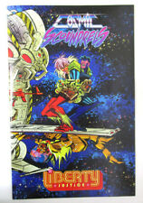 Comics Pro Summit Exclusive Cosmic Scoundrels and Liberty Justice Giant Sized NM