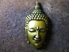 Buddha Head Statue 3D Miniature Fridge Magnet Resin Handmade Souvenir Home Deco