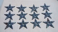 12 Cast Iron Stars  Architectual Stress Washer Texas Star Rustic Ranch  2 7/8""