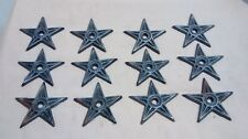 12 Cast Iron Stars  Architectual Stress Washer Texas Star Rustic Ranch  2 7/8
