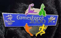 VOLUNTEER GAMES FORCE 2000 PARALYMPIC PIN - SYDNEY 2000 OLYMPIC PIN