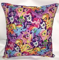 My Little Pony Pillow HANDMADE in USA Grouped Ponies Pillow MLP Pillow Brony