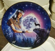 "Royal Doulton "" Maiden of the Mystical Moon "" Limited Edition Plate Ha2175"