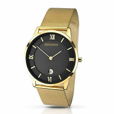 41f8e54bedda Gold Plated Case Men s Stainless Steel Strap Wristwatches for sale ...