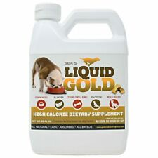 SBK'S LIQUID GOLD FOR DOGS High Calorie Dietary Supplement- 32 oz
