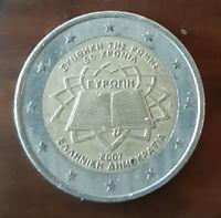2 Euro Commémorative Grèce 2007 Traite de Rome TTB 40-54 : Très Très Beau