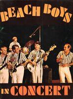 BEACH BOYS 1964 TOUR CONCERT PROGRAM BOOK BOOKLET / BRIAN WILSON / VG 2 NMT