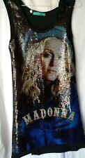 Madonna Sequins dress tunic M